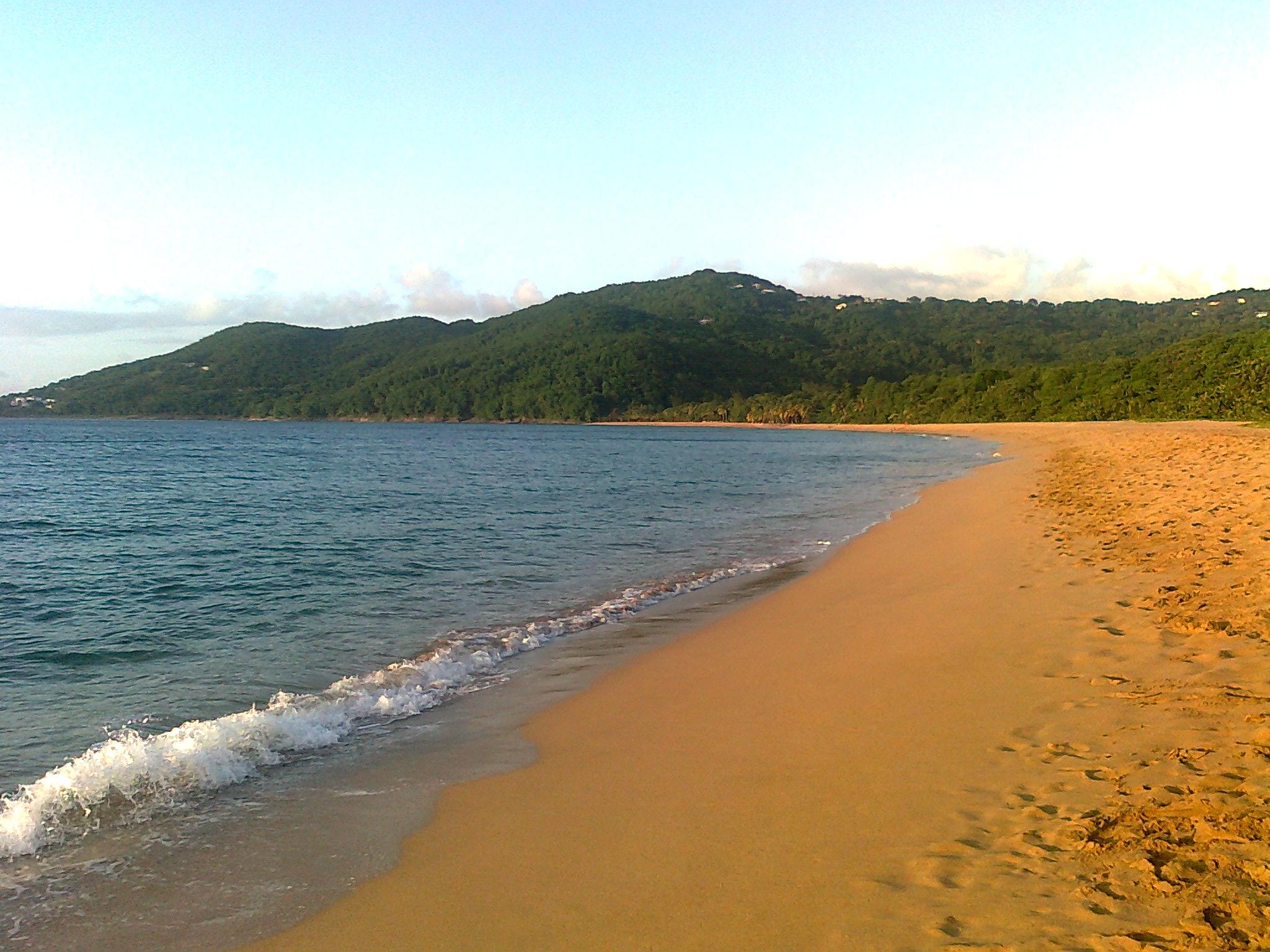 Deshaies plage de Grande Anse