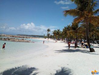 Plage de Sainte Anne Venir en Guadeloupe